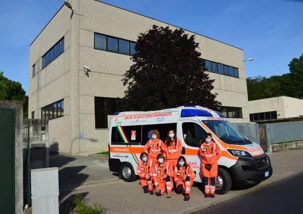 Nuova ambulanza per Sos della Valbossa