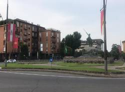 Palio 2020: le bandiere per la città di Legnano