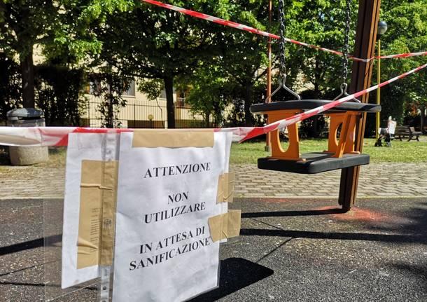 Parchi gioco a Legnano tra chiusure e aperture abusive