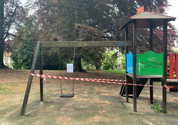 Parchi varesini aperti, giochi per i bambini chiusi