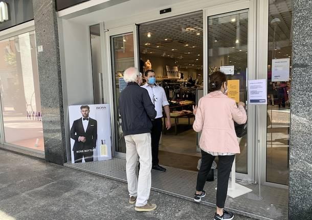 riaperture negozi bar ristoranti 18 maggio 2020 busto arsizio