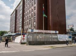 sanificazione coronavirus ospedale busto militari