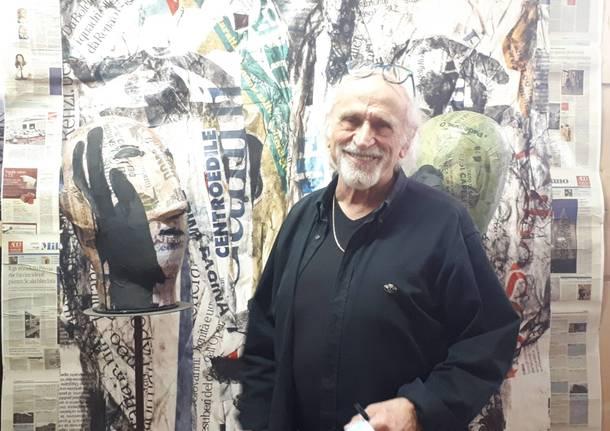 Nello studio di Silvio Monti