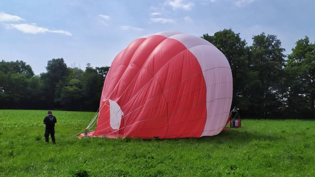 Un volo in mongolfiera per ricordare le vittime del Covid19