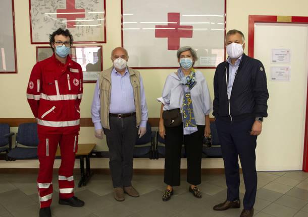 Varese - Visita Carlsberg alla Croce Rossa Varese