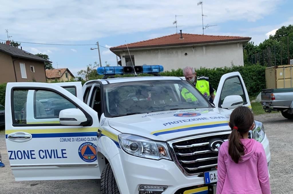 Vedano Olona - Nuovo mezzo Protezione civile