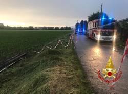 Vigili del fuoco Saronno temporale