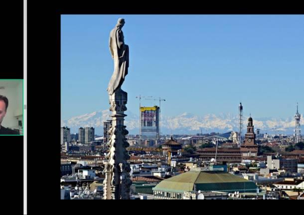 Il cantiere della torre Allianz a Citylife raccontato da Andrea Maffei