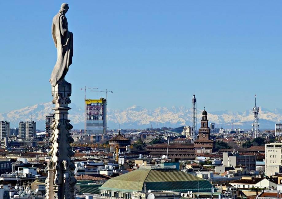 Andrea Maffei e il cantiere della Torre Allianz a Citylife