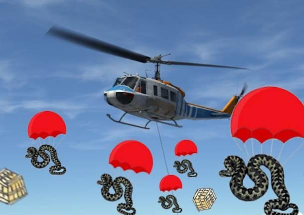 """Vipere lanciate dagli elicotteri"""", e la fake news è servita"""