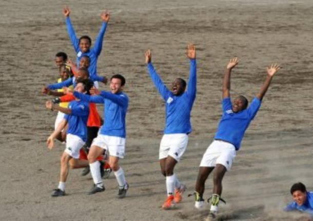 calcio liberi nantes roma rifugiati