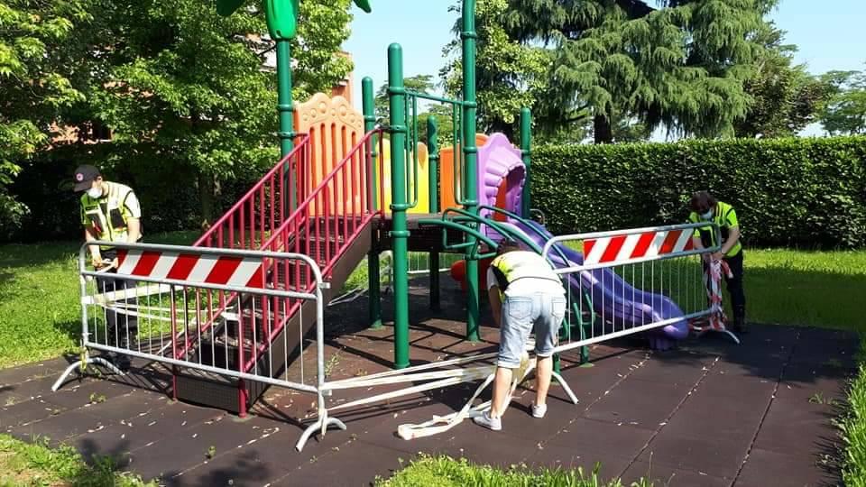 Gorla Maggiore, i giochi per bambini tornano disponibili