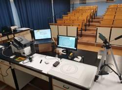 Al Ferraris, laboratorio di Fisica in DAD