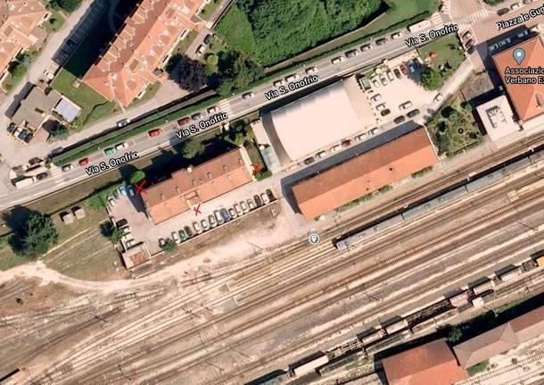 Luino, il degrado nei fabbricati delle ferrovie