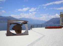 Le sculture di Angelo Bozzola nel giardino di Palazzo Verbania