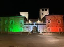 castello fagnano olona municipio tricolore
