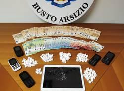 cocaina soldi carabinieri busto arsizio