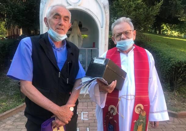 Don Antonio Giovannini e la comunità albanese a Legnano