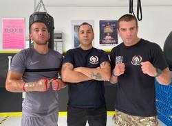 edoardo lozza giuseppe facente michele esposito pugilato boxe team camacho