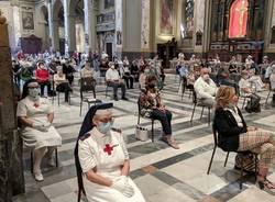 Festa Patronale di Saronno: si rinnova il tradizionale incendio del pallone