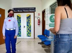 I volontari di Croce Rossa Italian a supporto delle scuole per gli esami di maturità