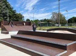Il nuovo skatepark di Somma Lombardo