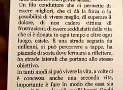 """""""Il sapore della vita dipende dagli ingredienti"""": un libro per l'ospedale di Saronno"""