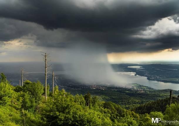 Il temporale sul Lago di Varese