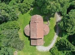 In volo con il drone sui beni archeologici del Varesotto