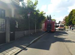 incidente in via Genova a Legnano