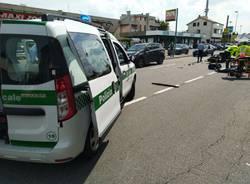 incidente in via Novara a Legnano