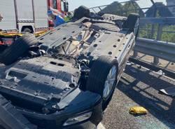 incidente tangenziale Rho Monza