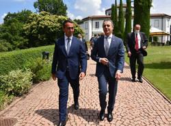 Incontro in Canton Ticino tra i ministri Cassis - Di Maio - Foto di Christian Righinetti