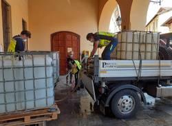 La distribuzione dell'acqua a Comerio e Barasso