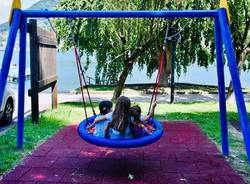 Lavena Ponte Tresa  - parco giochi Lavena
