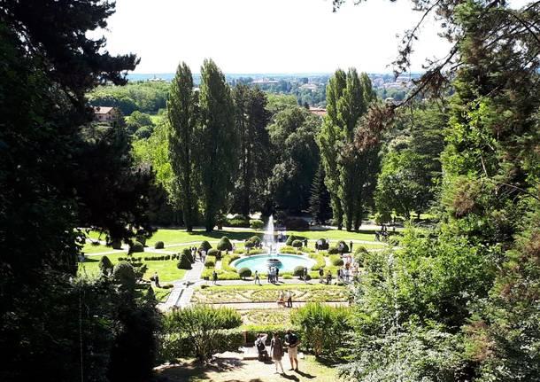 Le fontane di Villa Toepliz
