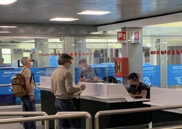 Malpensa Terminal 1 Coronavirus