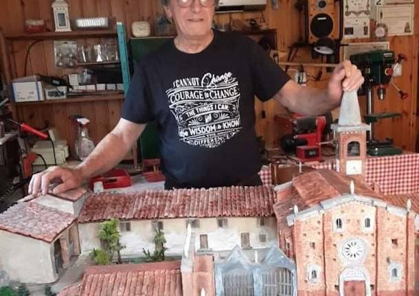 Mario Albrigi modellini valle olona