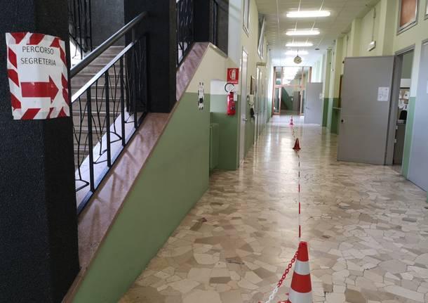 Maturità distanziata a Legnano