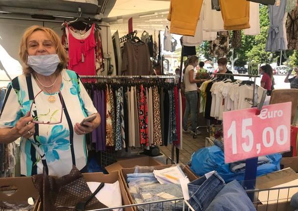 Mercato di Legnano, 13 giugno 2020