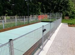 Origgio, inaugurato la nuova area del Parco dell'Infanzia