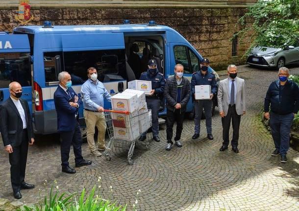 polizia alimentari donazione
