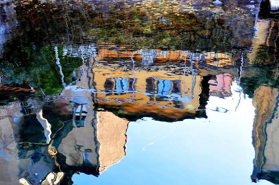 Porto Ceresio, riflessi - foto di Angelo Baroni