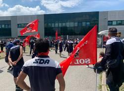 Sciopero degli operai Sda Lonate