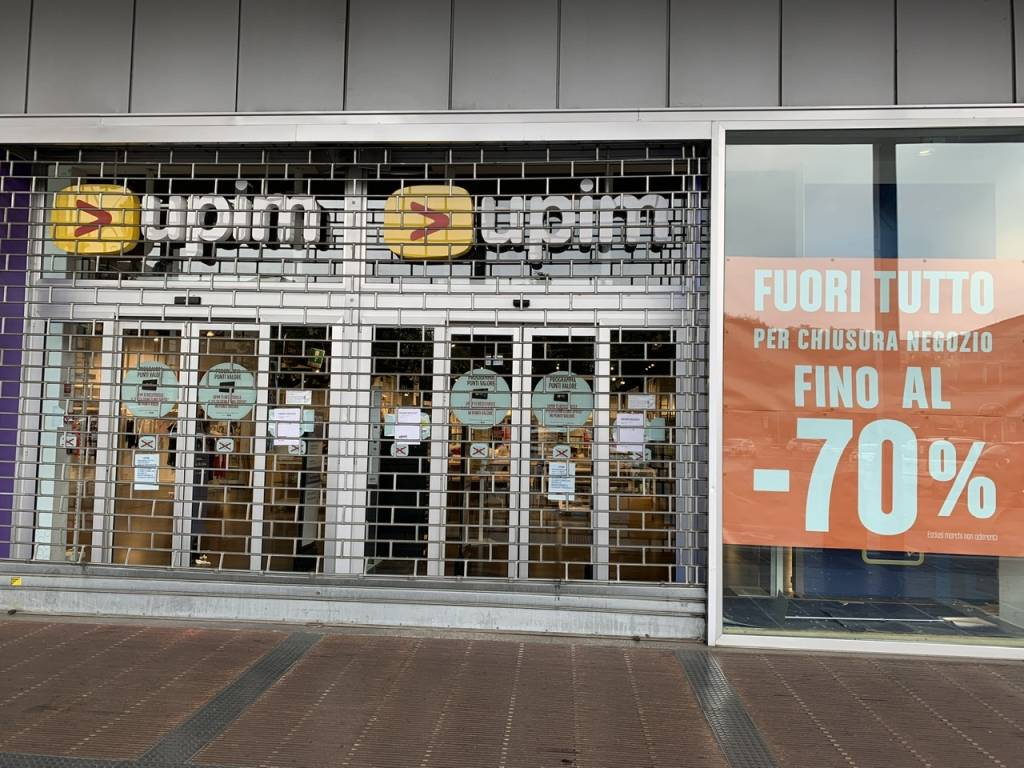 Upim  Varese è chiuso definitivamente