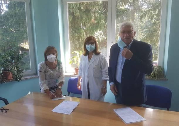 Venegono Superiore - Luigi Brianza presidente centro anziani La Traspareza