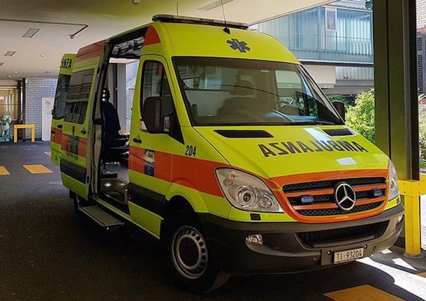 ambulanza croce verde lugano