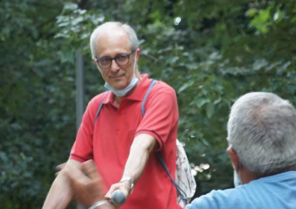 Augusto Airoldi incontra i cittadini nel quartiere Matteotti