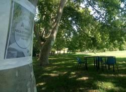 Aula studio nel verde di Villa Mylius