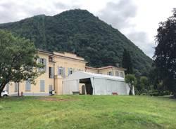 Aule studio all'aperto a Villa Frua di Laveno Mombello